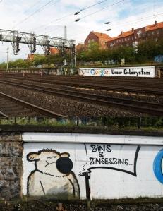 Google: Unser Bezahlystem, Grafitti von herr_wachtmeister