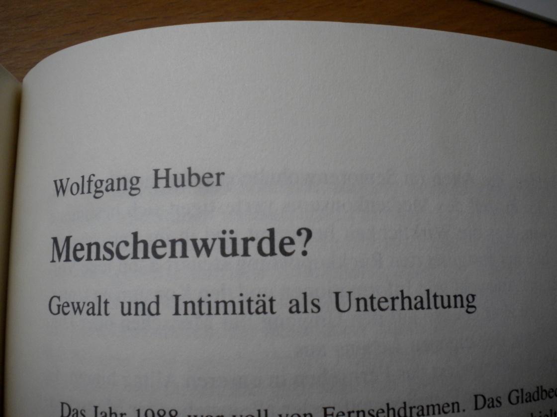 """Hubers Text im Sammelband """"Öffentlichkeit und Kommunikationskultur"""""""