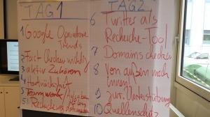 10 Recherchegrundsätze