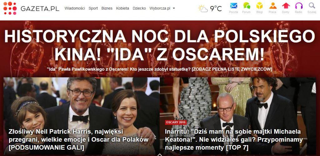 historyczna noc polskiego kina (gw online)